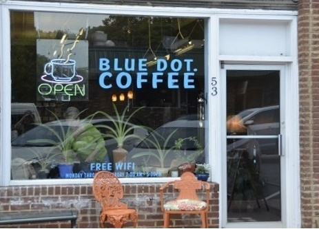 Blue Dot Coffee in Pittsboro NC