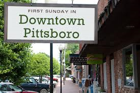 First Sunday in Downtown Pittsboro