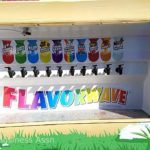 Some of the flavors available from Kona Ice.