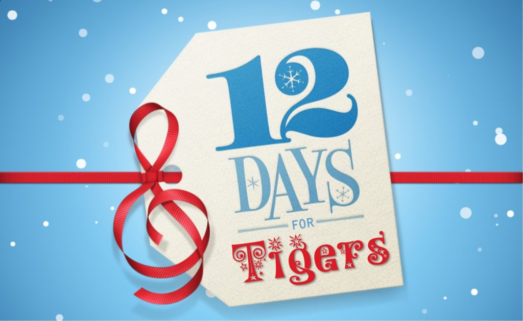 Carolina Tiger Rescue's 12 Days for Tigers