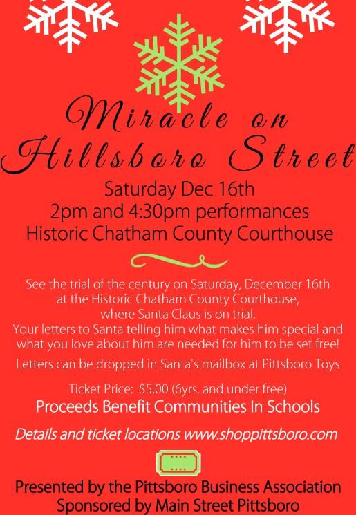 Miracle on Hillsboro Street
