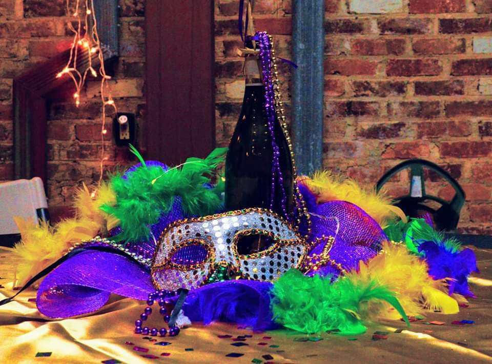 Fire Clay Cellars Mardi Gras Party