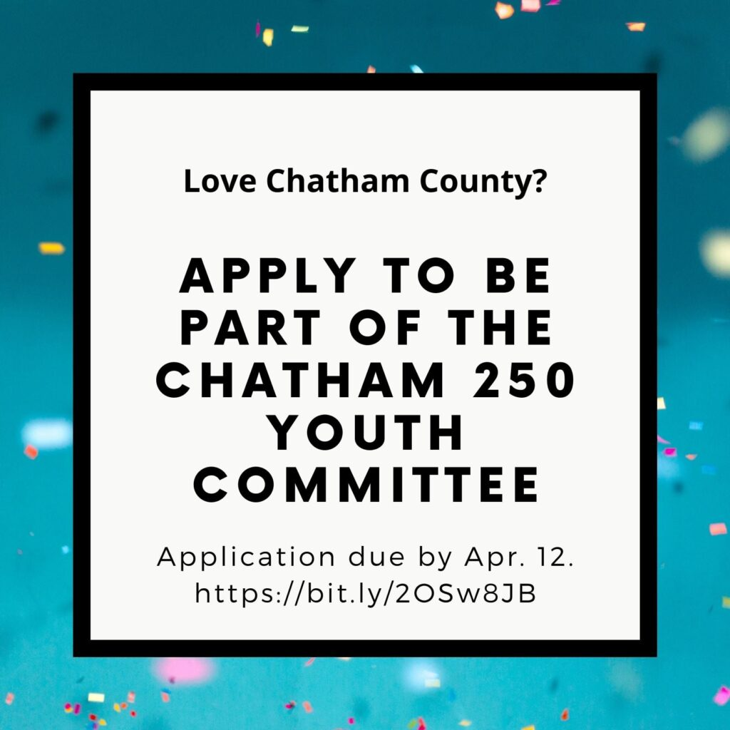 Chatham250 Youth Committee