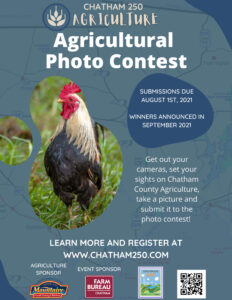 Chatham County, NC, agricultural photo contest