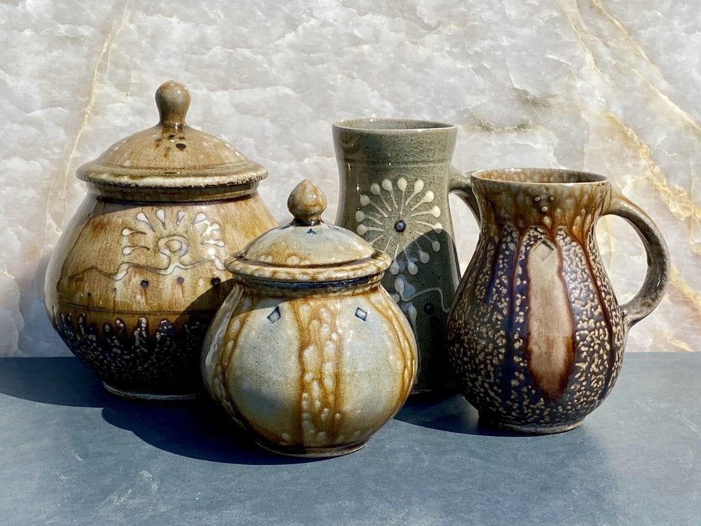 Hewitt Pottery Fall 2021 Kiln Opening